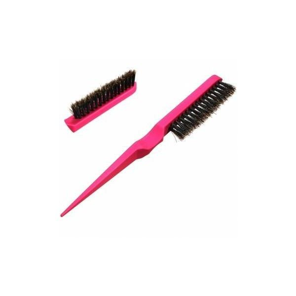 Professional Rubber Teasing Back Combing Styling Tangle Hair Brush ($3.04) ❤ liked on Polyvore featuring beauty products, haircare, hair styling tools, brushes & combs, white, brush comb, hair brush, hair combs, hair brush comb and comb brush