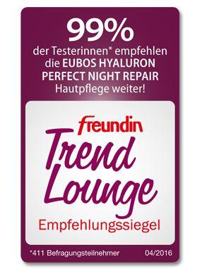 Testergebnis zu Eubos Hyaluron Perfect Night Repair - freundin Trend Lounge