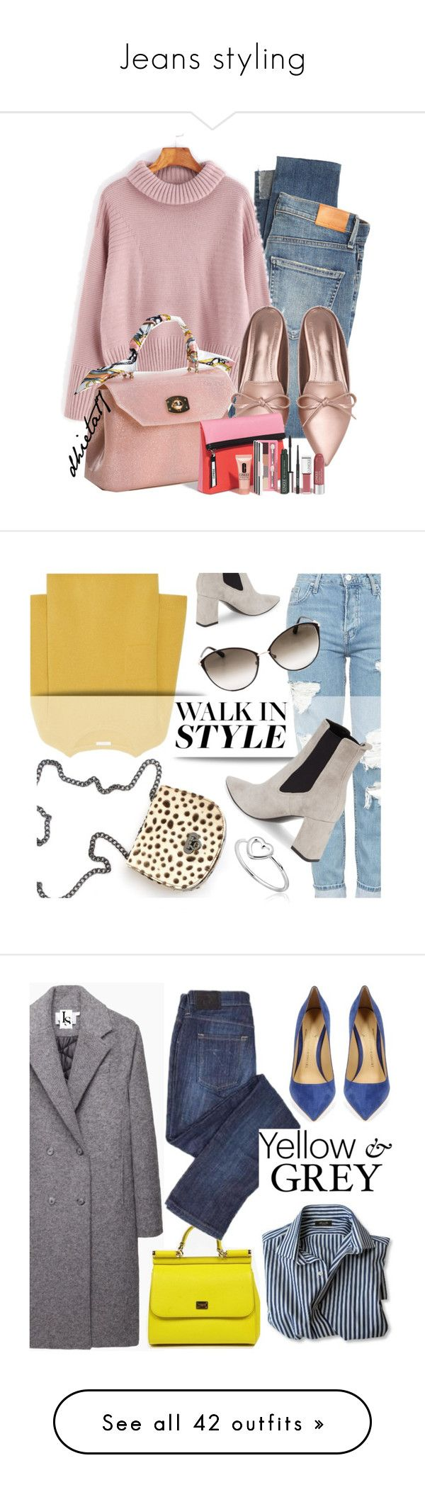Jeans styling by didide1 on Polyvore featuring polyvore fashion style Citizens of Humanity clothing pinkSweater Topshop Chloé Marc Fisher LTD Tom Ford LeopardPrint chelseaboots leopardbag Versace 19•69 T By Alexander Wang Dolce&Gabbana Oris White House Black Market H&M HUGO Valentino Gianvito Rossi polyvoreditorial licethfashion Olivia Burton Casetify Yves Saint Laurent 3.1 Phillip Lim Michael Kors TrickyTrend highwaistjeans mytheresa Monki Ally Fashion Vionnet Dsquared2 Jeremy Scott…