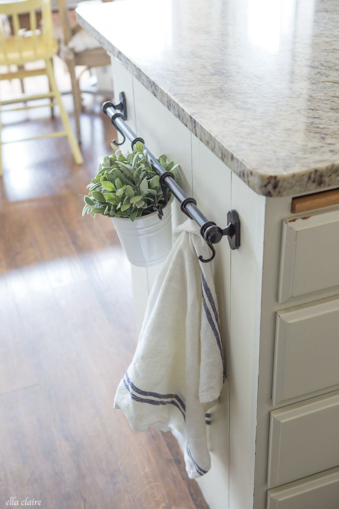 favorite ikea spring farmhouse decor - Kitchen Towel Bars Ideas