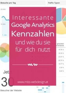 So nutzt du Google Analytics Kennzahlen für deine Website   miss-webdesign.at