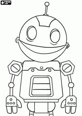 online coloring robot for kids also Link from Zelda # ...