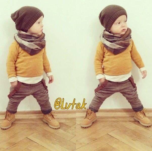 boy timberland boots baby kid stuff pinterest tenues enfants b b gar on et mode enfant. Black Bedroom Furniture Sets. Home Design Ideas