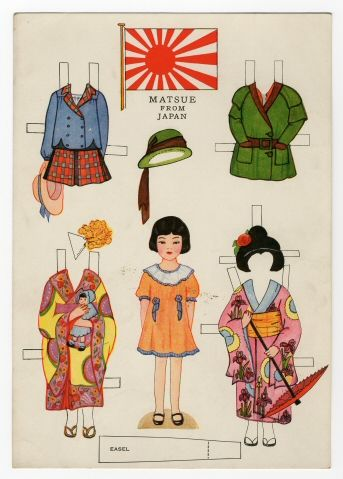 78.6432: Little Americans from Many Lands-Matsue from Japan | paper doll | Paper Dolls | Dolls | Online Collections | The Strong