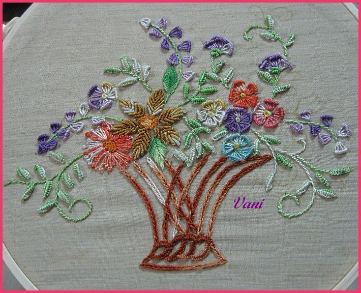 brazillion embroidery | Brazilian embroidery