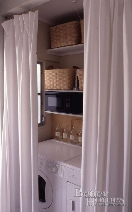 another small laundry room