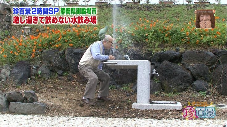 激しすぎて飲めない水飲み場 : あごひげ海賊団