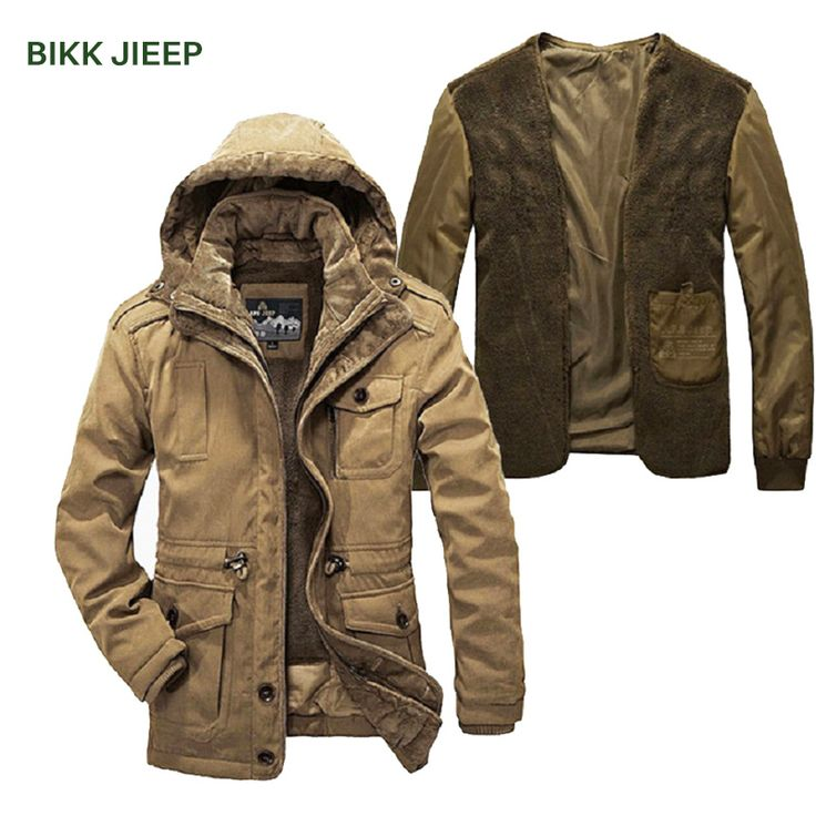 Cheap jacket parka men, Buy Quality down parka men directly from China parka down men Suppliers: Men Parka Warm Two Pieces Winter Jacket Men Hooded Thick Padded Jaqueta Masculino Inverno Mens Down Jacket Mens Winter Coats http://ali.pub/1y4em3