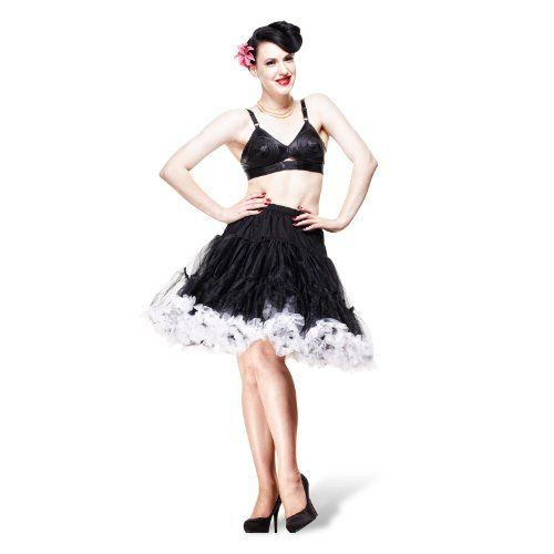 Hell Bunny – Petticoat Swing – Black/White http://45.gs/sa3z