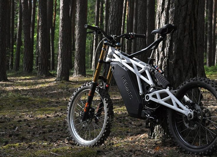 the neematic FR/1 is a fustion of MTB and dirt bike with 20kW of power
