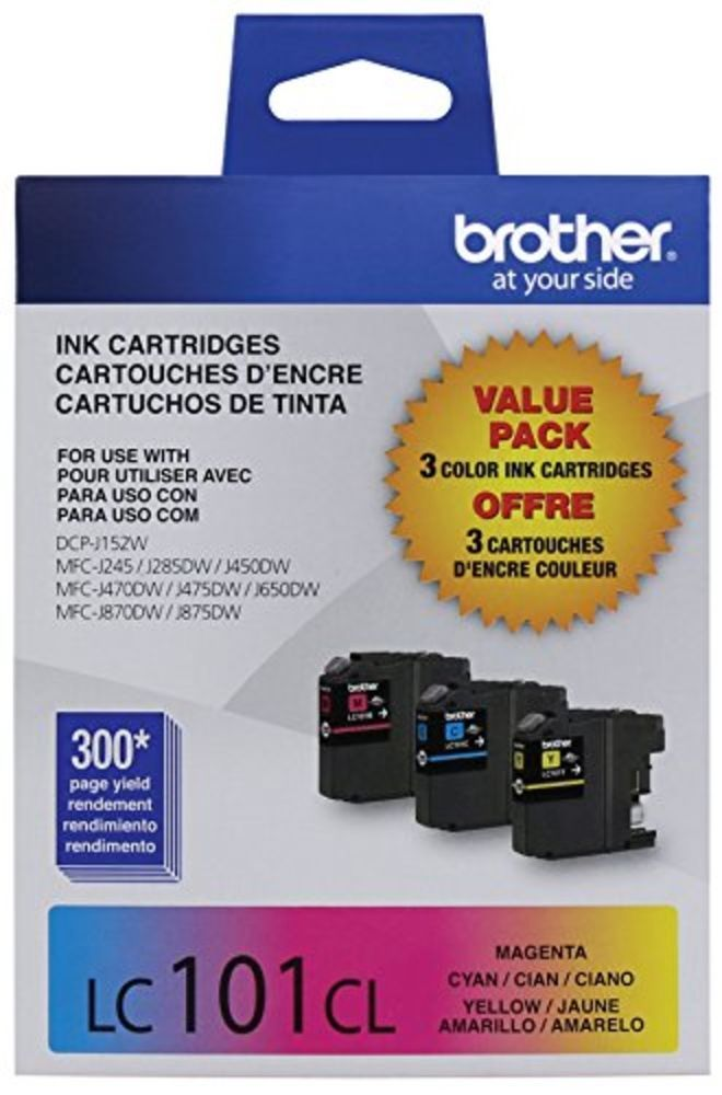 Brother Inkjet Printer Innobella 3pack Standard Yield Color Ink Cartridge Office #Brother
