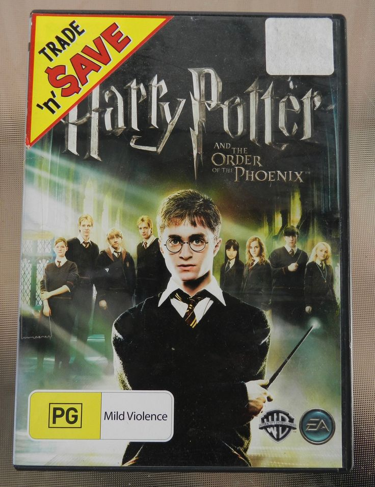 Harry Potter and the Order of the Phoenix PC DVD-ROM