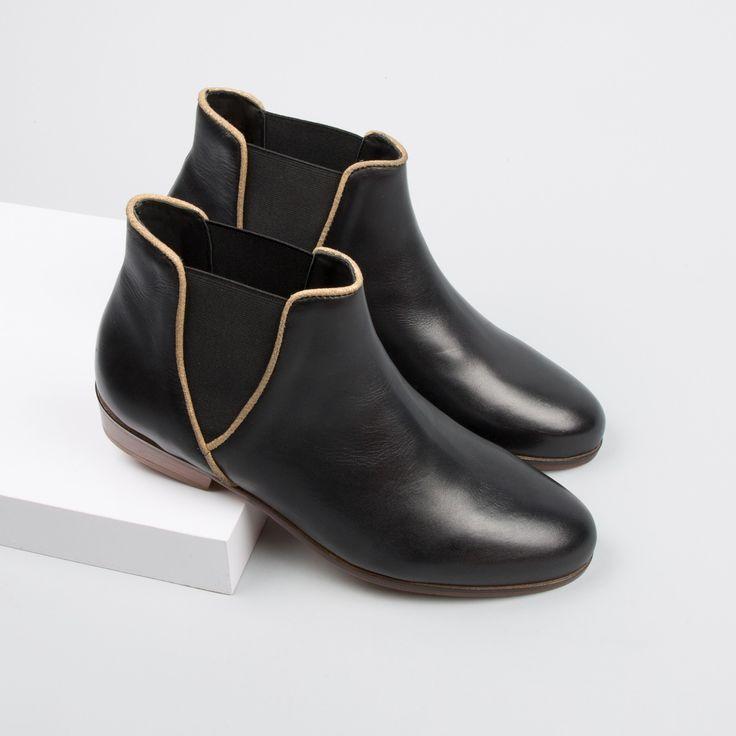 Chelsea boots noir - La Londonienne - Bobbies
