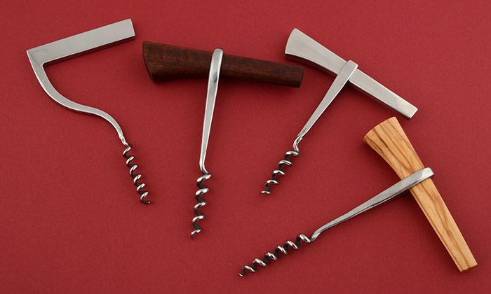 Echtkovar`s corkscrew from stainless steel and exotic wood Author> Echtkovar/Anton Vadovič