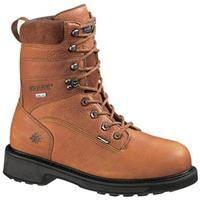 "Men's Wolverine® DuraShocks® 8"" Slip Resistant Gore - Tex® Composite Toe Boots: Men's Wolverine®… #militarysurplus #ammo #outdoor #hunting"