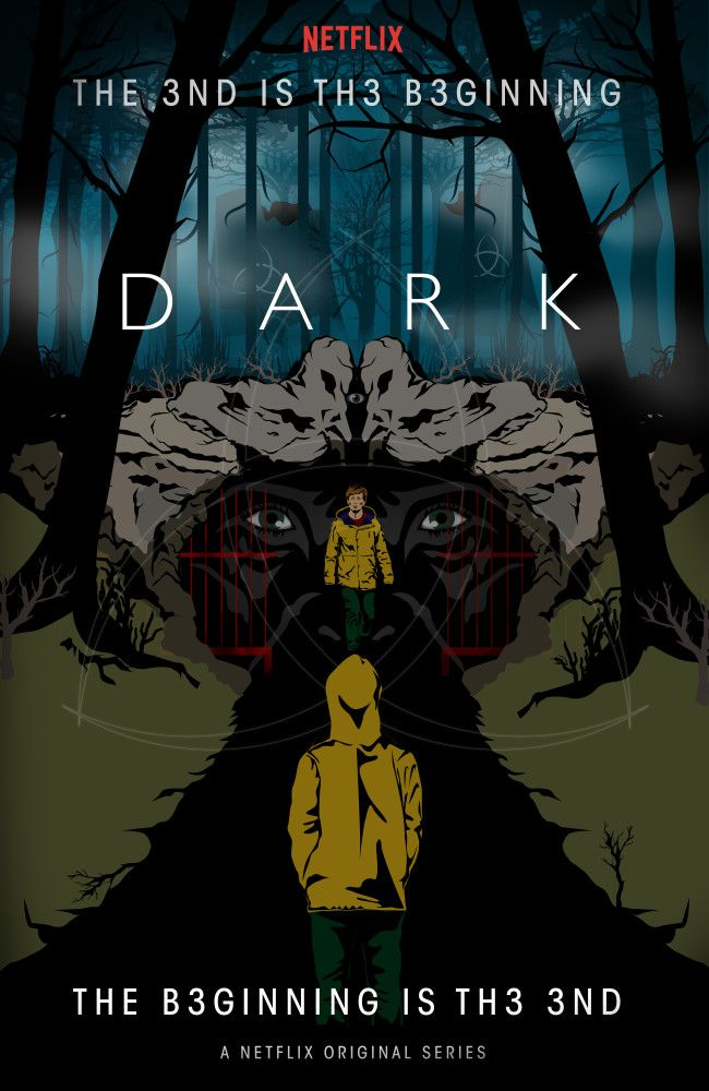 Dark Mural Artwork In 2021 Dark Netflix Art Dark Netflix Poster Dark Netflix Dark netflix cave wallpaper