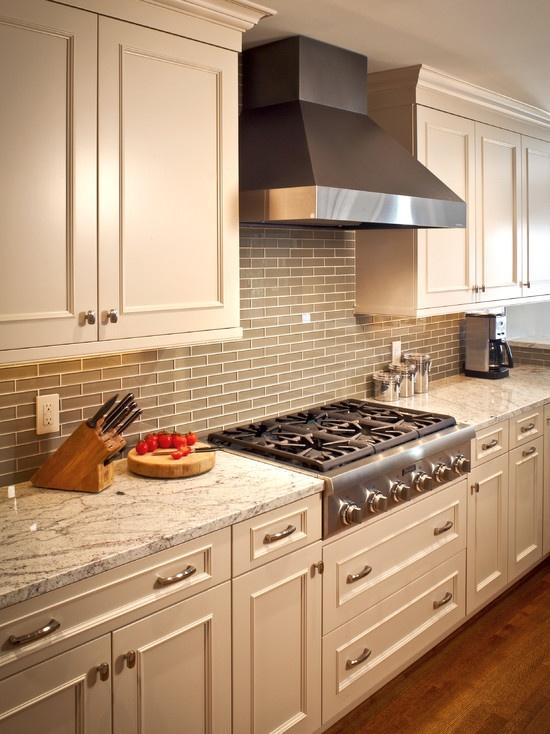 River Oaks White Kitchen by Ashley Scherch    http://www.houzz.com/pro/cabinetsanddesigns#