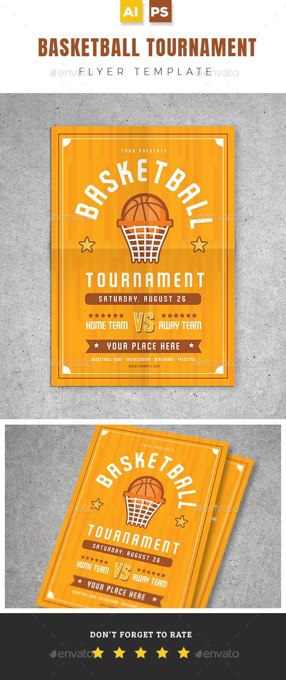 Pin By Fdesign Nerd On Basketball Flyer Template Flyer Template