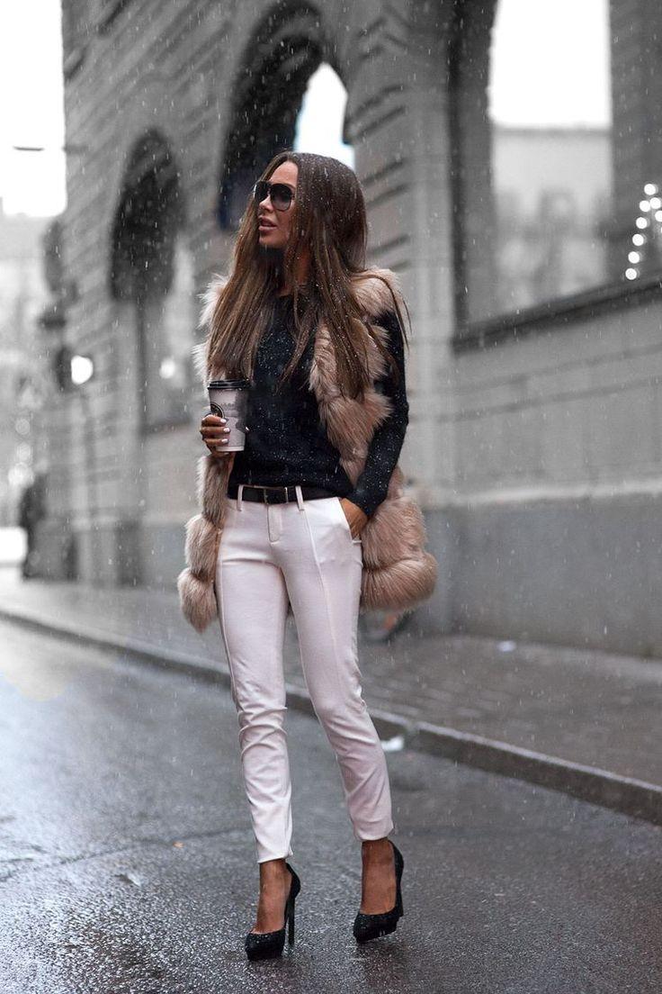 Fur vest | Fall Style