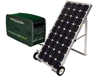 solar power options.