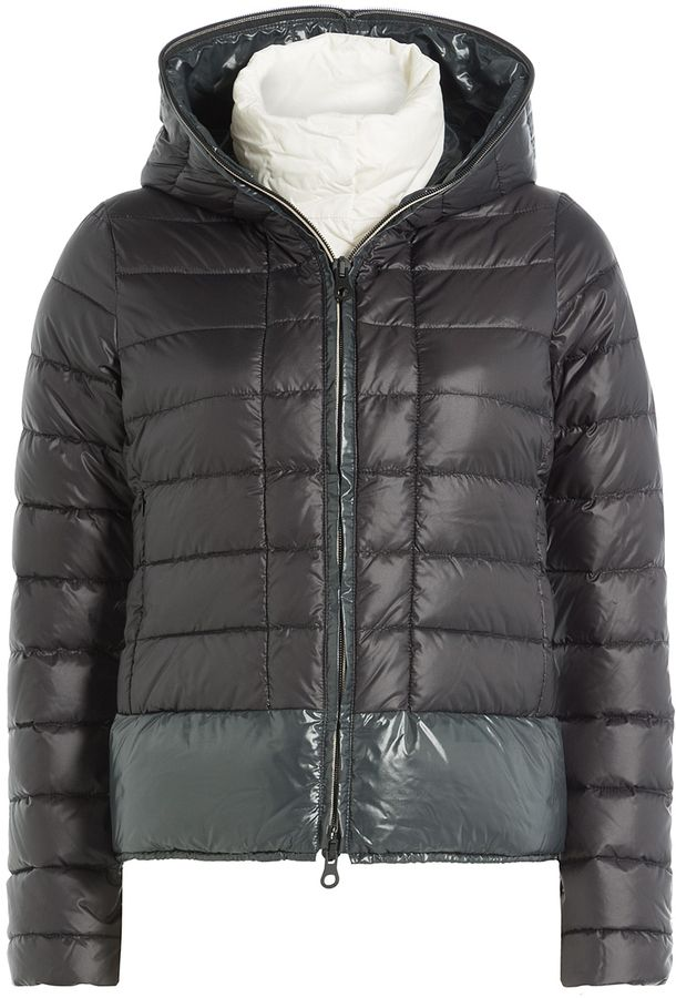 Duvetica Layered Down Jacket