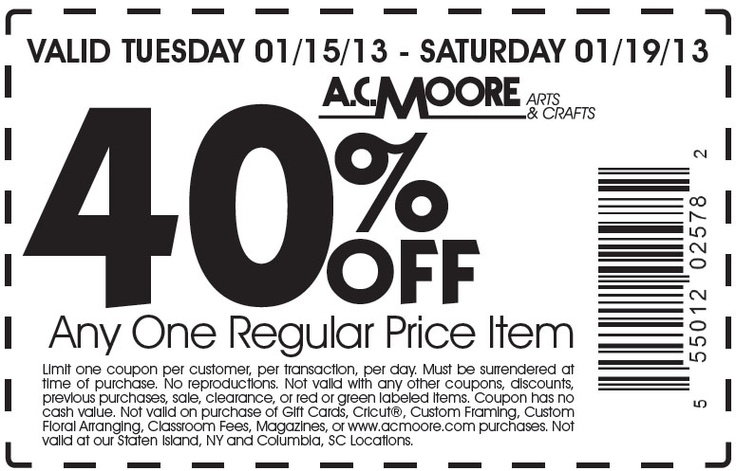 graphic regarding Charlotte Russe Printable Coupons identify 50 off ac moore coupon 2018 / Chase coupon 125 cash