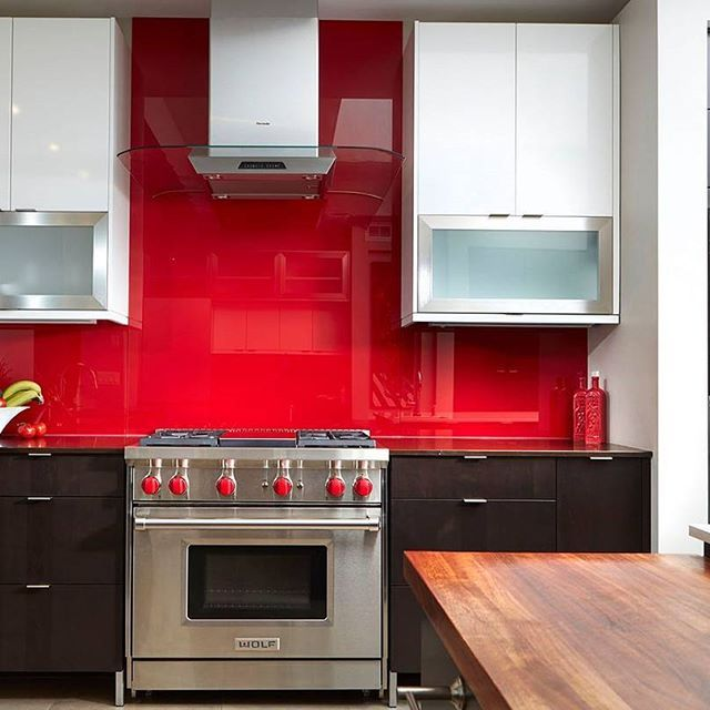 If You Answered Red, Boy Do We Have The Kitchen For You! A Clean Red  Backsplash And Emperadoro Counters Keep This Space Simple And Vibrant.