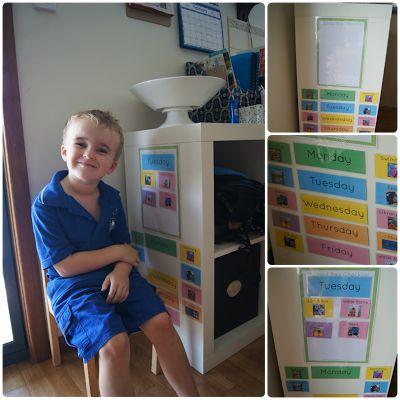 Teapots and Tractors: School Bag Checklist - Encouraging Independance {Sponsored}