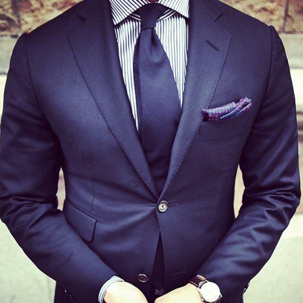 Pochette En Coton Pour Hommes Carré - Baisers Indigo Hommes Cotsq Par Vida Vida ygvqXck