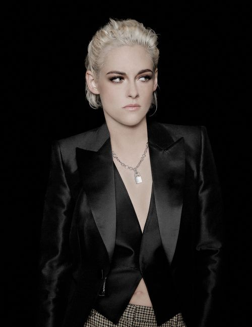 Kristen Stewart photographed by JP Yim at New York Film Festival.