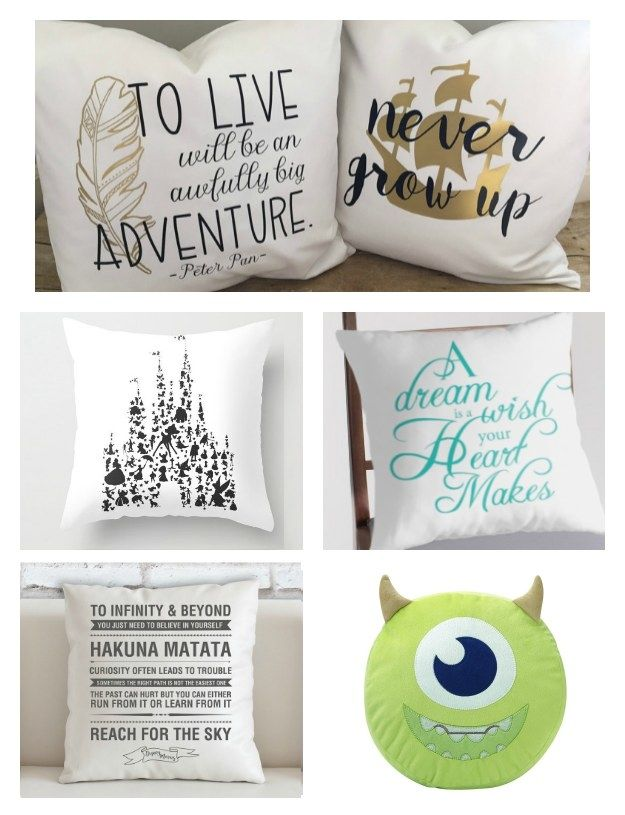You can never have too many dreams…or pillows. | Community Post: 29 Magical Products You Need For The Perfect Disney Dorm Room