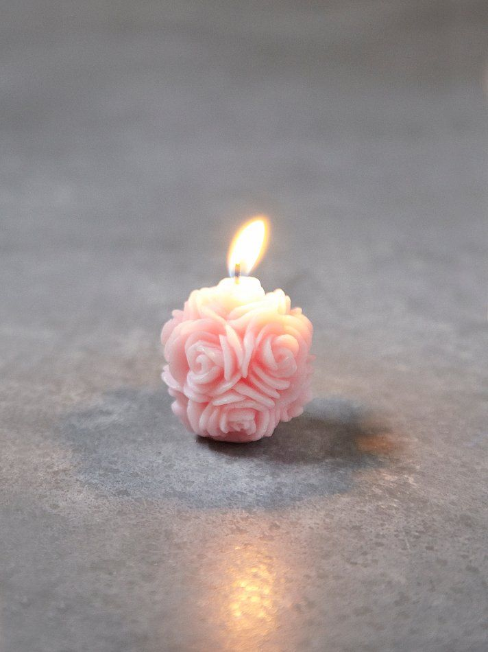 Free People Small Floral Candle at Free People Clothing Boutique