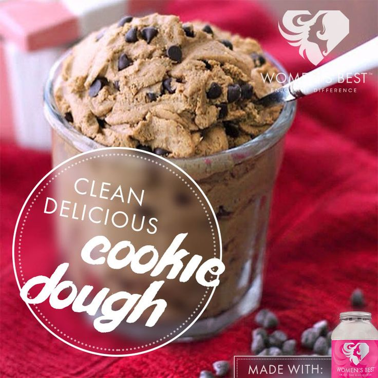 Enjoy cookie dough even while you lose weight with this recipe from Women's Best!