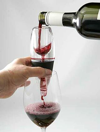 Vinturi Wine Aerator...because I don't like to wait for things, especially not my red wine :)