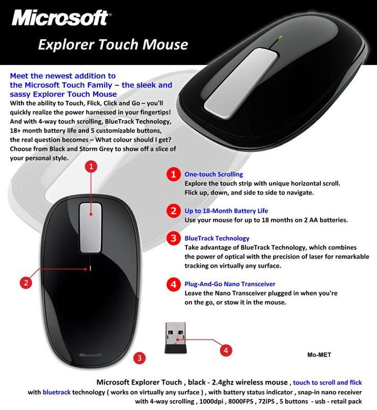 Explorer Touch Mouse