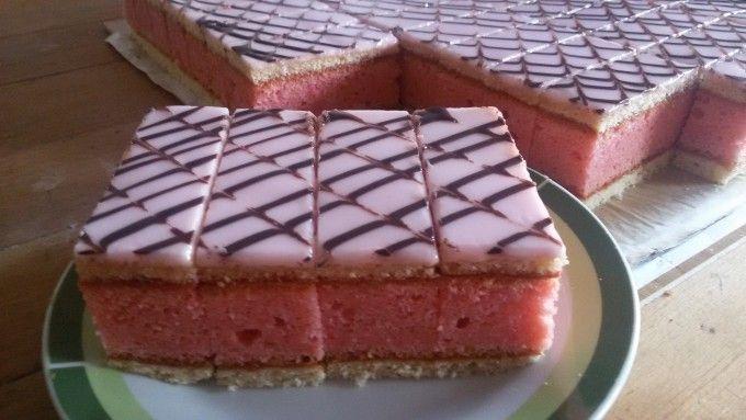 Punčové řezy jako z cukrárny | NejRecept.cz