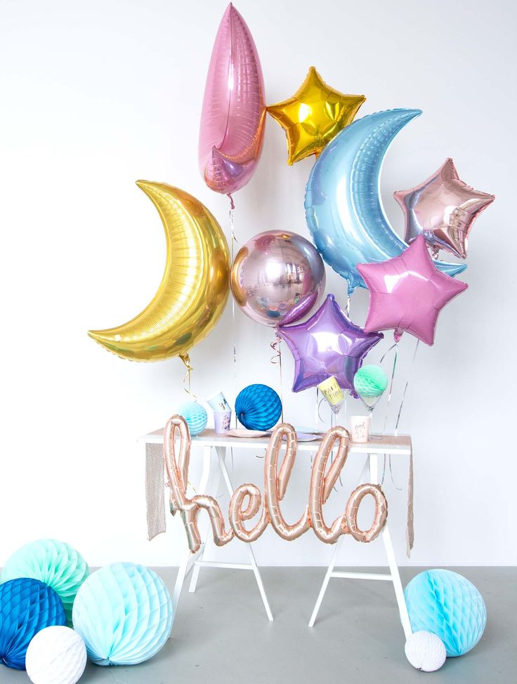 die besten 25 ballon dekoration ideen auf pinterest ballon ideen pastell partydekorationen. Black Bedroom Furniture Sets. Home Design Ideas
