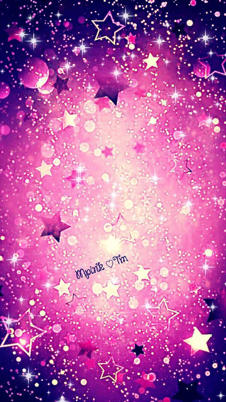 Pink Stars Galaxy Wallpaper Androidwallpaper Iphonewallpaper Wallpaper Galaxy Sparkle Glitter Lockscree Star Wallpaper Galaxy Wallpaper Iphone Wallpaper