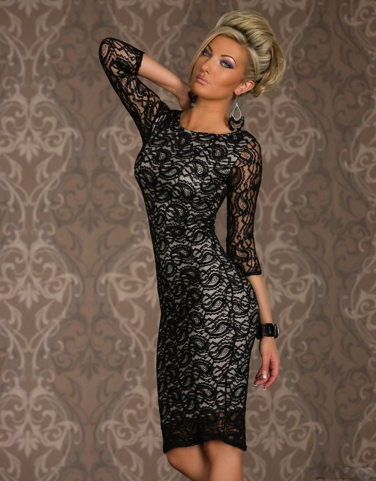 Elegante Vestido de Randa http://sensualvelvet.com/2014/05/20/elegante-vestido-de-randa/