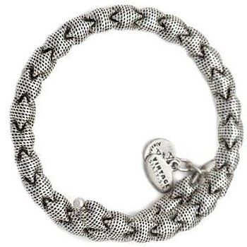 "Alex and Ani ""Vintage 66"" Deco Wrap Rafaelian Silver Expandable Bracelet"