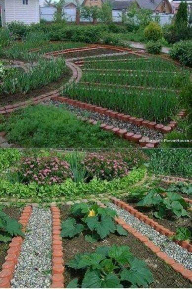 58 Backyard Organic Gardening This Summer Potager Garden