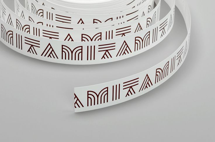 Branded box tape for Mita Chocolate Co. by Moniker, United States