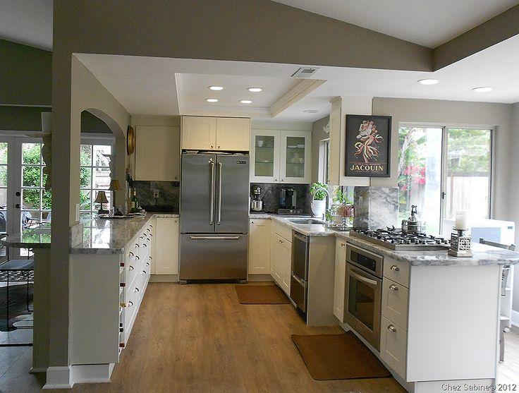 die besten 25 galley kitchen redo ideen auf pinterest. Black Bedroom Furniture Sets. Home Design Ideas