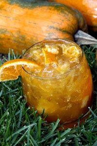 Pumpkin Bourbon Cocktail