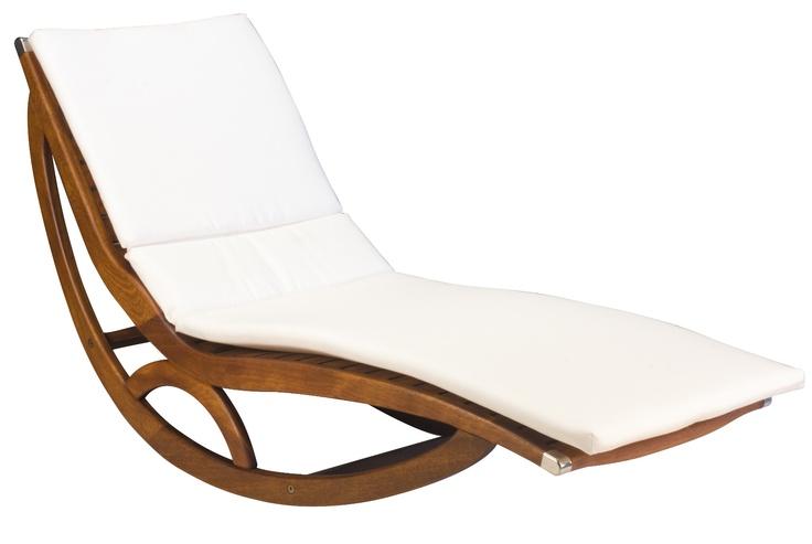 Rocking chaise by Dax-Sierra