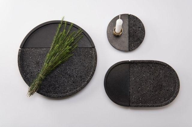 Прямо из жерла вулкана: дизайнерские тарелки из вулканической породы #FAQinDecor #design #decor #architecture #interior #art #дизайн #декор #архитектура #интерьер
