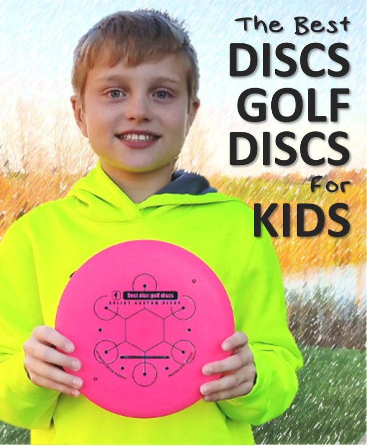 The Complete guide to choosing the best disc golf discs for kids! Children do not use the same discs as adults!