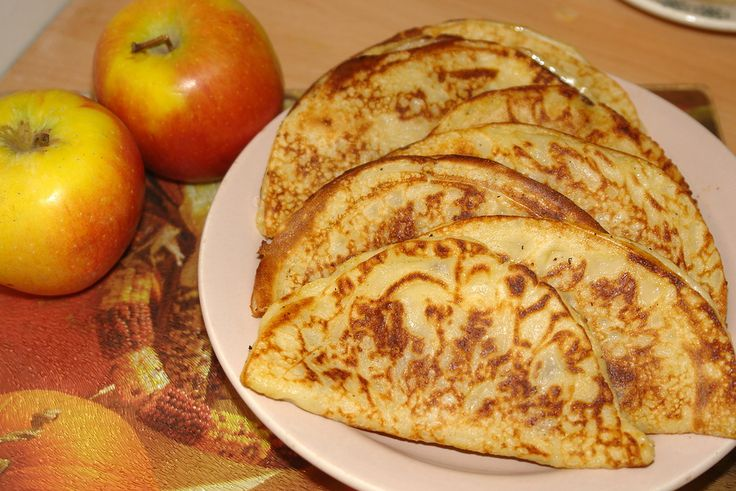Катаеф - блинчики с яблоками по-арабски