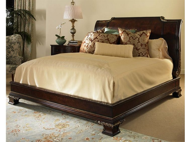 king size bed frame with headboard - Bed Frame For King Size Bed