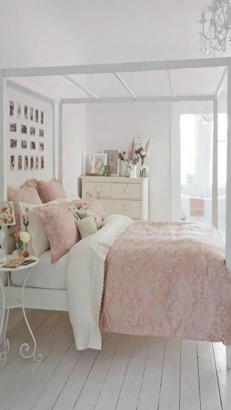 Sweet Pastel Bedroom Light Pink Bedrooms Shabby